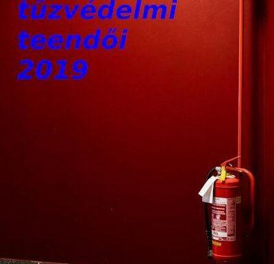 Vállalkozás tűzvédelmi teendői 2019-ben